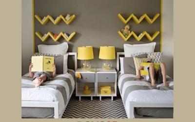 Una per due: una camera con due letti singoli affiancati